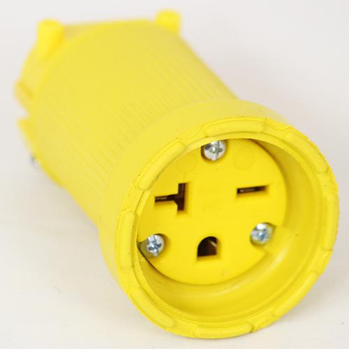 20 Amp 250 VAC Flip Seal Connector Image