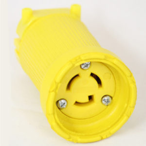15 Amp 125 VAC Flip Seal Locking Blade Connector Image