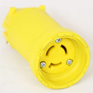 15 Amp 250 VAC Flip Seal Locking Blade Connector Image