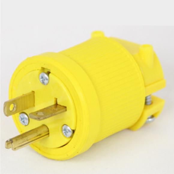 20 Amp 125 VAC Flip Seal Plug Image