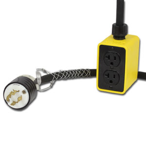 20 Amp, 25 Foot Pendant Drop Outlet Box Image