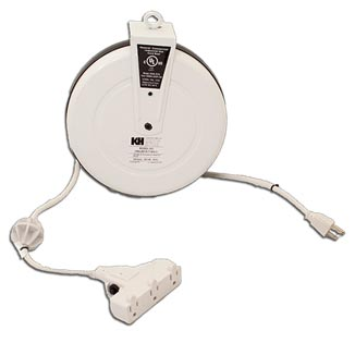 CRA/CRB/CRD Series Light Duty Cord Reels, 7, 10, 13 or 15 Amp