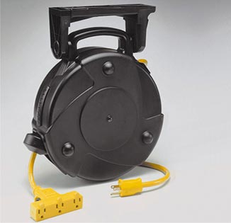 CRP Series Light Duty Cord Reels, 13 or 15 Amp