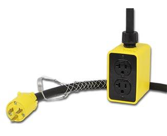 Portable Power Pendant Bus Drops