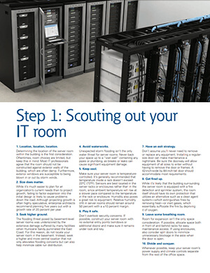Improving your network closet or IT room
